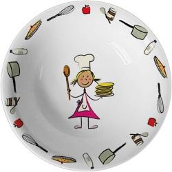 Miseczka do zupy d 170 mm (z. przedszkolny)