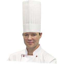 Czapka kucharska Le Chef h 250 mm