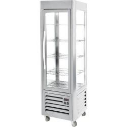 Witryna ekspozycyjna chłodnicza z półkami 360 l