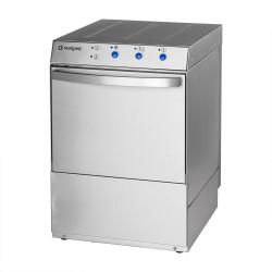 Zmywarka uniwersalna 400,230V z dozownikiem płynu myjącego, po mpą zrzutową i pompą wspomagającą płukanie