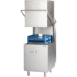 Zmywarka kapturowa 500x500, 10 kW z dozownikiem płynu myjącego i pompą wspomagającą płukanie