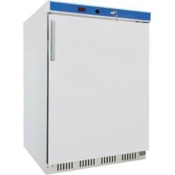 Szafa chłodnicza 130 l, wnętrze z ABS, biała lakierowana
