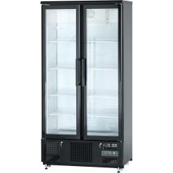 Szafa chłodnicza do butelek 500 l drzwi otwierane