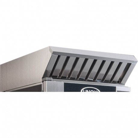 Okap z kondensatorem pary do pieców BakerTop EL 600x400