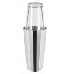 Boston Shaker 0,8l ze szklanką - stalowy
