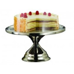 Patera do ciasta stalowa śr.32,5 cm