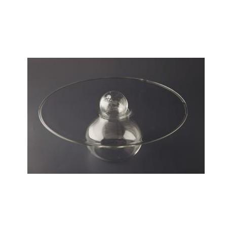 Talerz szklany Owni śr.28 cm