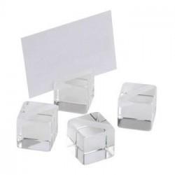 Zestaw stojaków akrylowych na karty menu