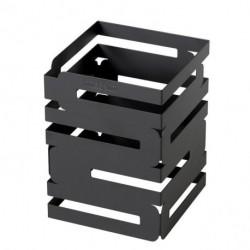 Stojak Skycap z czarnej matowej stali średni