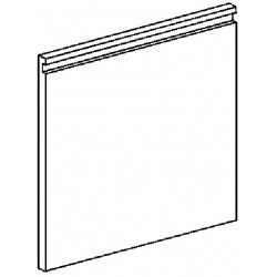 Drzwi pojedyncze prawe z uchwytem do podstaw szer. 400 mm MBM600