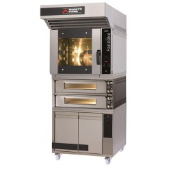 Zestaw piekarniczo - pizzeryjny iBake z piecem dwukomorowym MFIBAKE28