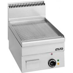 Płyta grillowa stołowa,ryftlowana - elektryczna MBM600