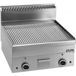 Płyta grillowa stołowa,ryftlowana - gazowa MBM600