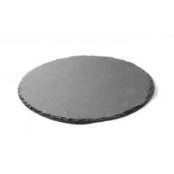 Płyta łupkowa - okrągła zestaw 2 szt. śr. 200 mm