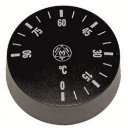 Pokrętło termostatu zbiornika wyparzania do zmywarki do naczyń (231463, 231418)