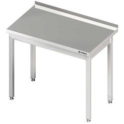 Stół przyścienny bez półki 1200x700x850 mm skręcany