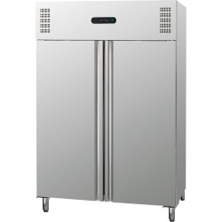 Szafa chłodnicza  2 drzwiowa ze stali nierdzewnej GN 2,1 1311 l