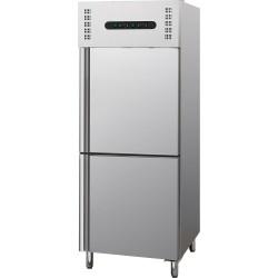 Szafa chłodniczo mroźnicza 300l+300l, GN 2,1
