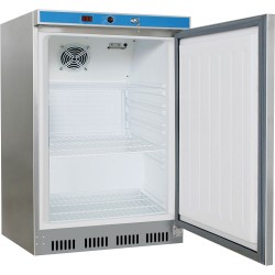 Szafa chłodnicza 130 l, wnętrze z ABS, stal nierdzewna