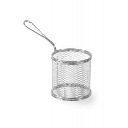 Koszyk do smażonych przekąsek okrągły - głęboki ø90x(H)90