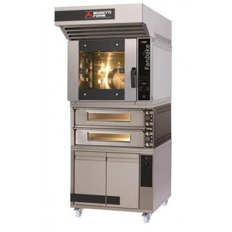 Zestaw piekarniczo - pizzeryjny iBake z piecem dwukomorowym MFIBAKE26