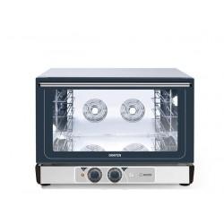 Piec piekarnicze konwekcyjne z bezpośrednim nawilżaniem – 4x 600x400 mm sterowany manualnie z autorewersem