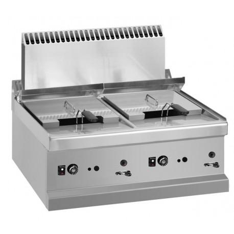 Frytownica stołowa - gazowa,  2x9 l, linia 700