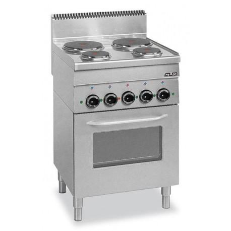 Kuchnia Elektryczna Z Piekarnikiem Elektrycznym Mbm600 123gastro