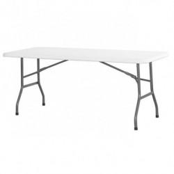 Stół cateringowy ze składanym blatem 1830x750mm