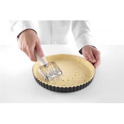 Rolka do ciasta dziurkująca 70 mm - wałek stali nierdzewnej