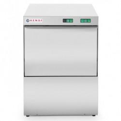 Zmywarka do naczyń 50x50 400V - sterowanie manualne z dozownikiem detergentu i pompą spustową