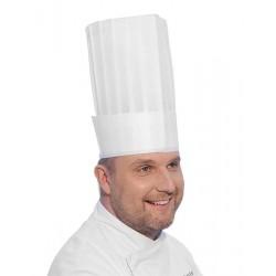 Czapka kucharska 'LE GRAND CHEF' - zestaw 10 sztuk