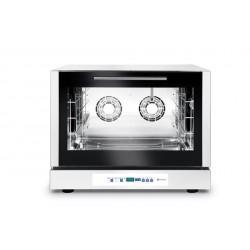 Piec piekarniczy, konwekcyjny z nawilżaniem 4x600x400mm - elektryczny, sterowanie elektroniczne, programowalnytrójfazo
