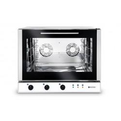 Piec piekarniczy, konwekcyjny z nawilżaniem 4x600x400mm - elektryczny, sterowanie manualne, trójfazowy