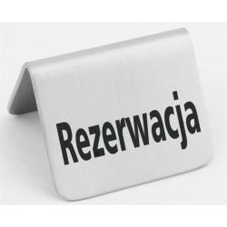 Tabliczka informacyjna 'Rezerwacja'