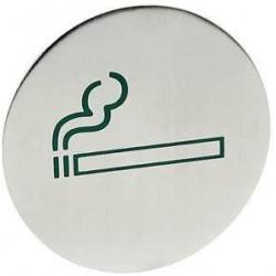 Tabliczka informacyjna na drzwi dla palących - duża