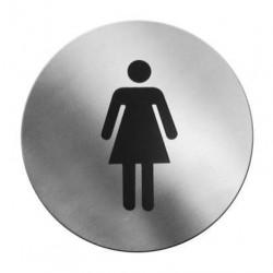 Tabliczka informacyjna samoprzylepna - kobiety