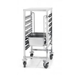 Wózek do transportu pojemników - 7x GN 1,1
