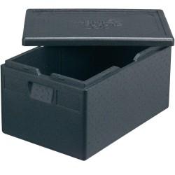 Pojemnik termoizolacyjny, czarny, 600x400x200 mm